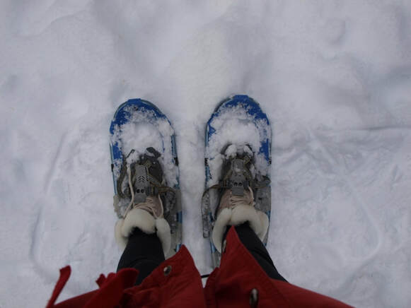 Nature lover Valentine's gift: A day of snowshoeing is a peaceful gift for a nature lover